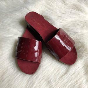 Calvin klein footbed sandals • 7